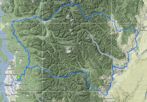 2014 alternate route around Oso mud slide